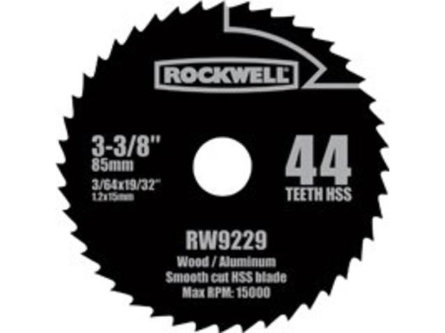 Rockwell RW9229 3-3/8-Inch 44T HSS Blade for Versacut