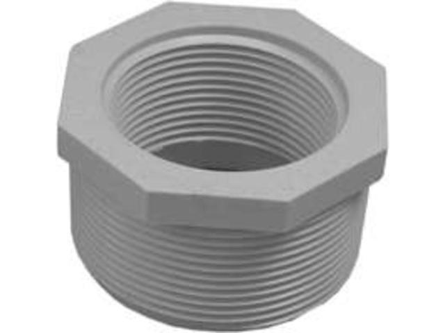 Genova Products 2in. X 1-.50in. PVC Sch. 40 Threaded Reducing Bushings  34321