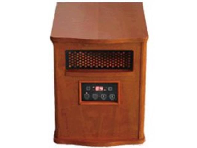 World Marketing of America Infrared Quartz Portable Comfort Furnace - Infrared - Portable - Chestnut Oak