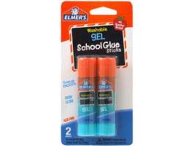 Elmer's Washable School Gel Glue Sticks 2/Pkg-.28oz