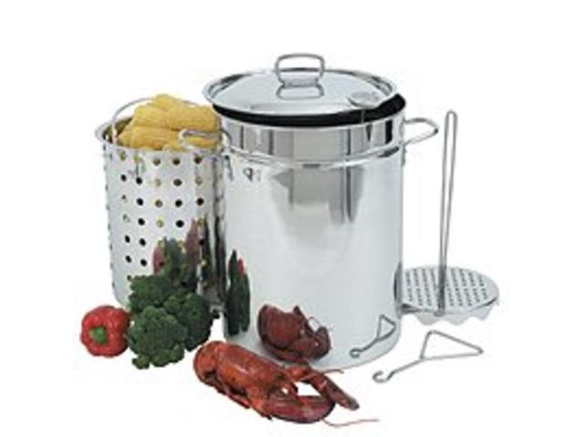 Bayou Classic 32 Quart Stainless Steel Turkey Fryer