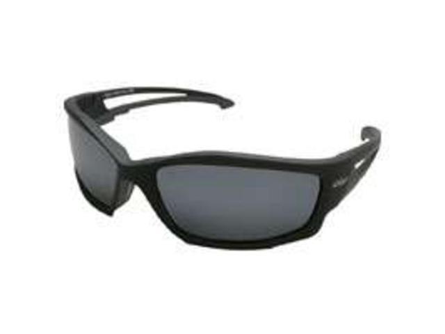 Edge Eyewear TSK21-G15-7  Kazbek Polarized SunGlasses, Black/G-15 Silver Lens