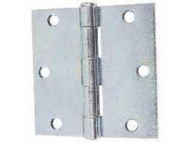Hng Util 6Hl 3-1/2In Brs Stl STANLEY HARDWARE Utility Hinges 751490700 Steel