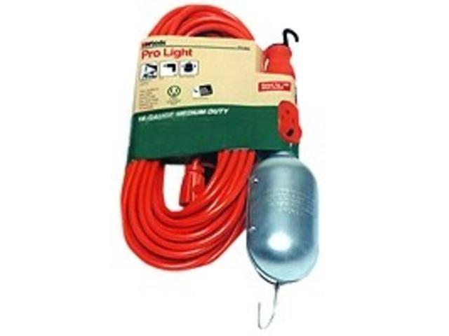 Lt Wrk 120V 12A 75W 18/2 Sjt COLEMAN CABLE INC. Clamp Lights 0692 Orange