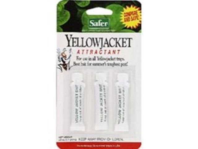 Yellow Jacket Wasp Bait 3Pk Woodstream Insect Traps & Bait/ Outdoors 02006