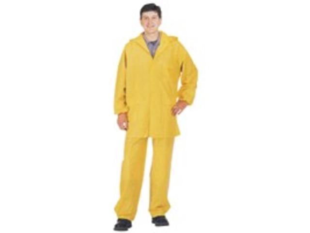 Diamondback 8127M 2-Piece PVC Yellow Rain Suit, Medium