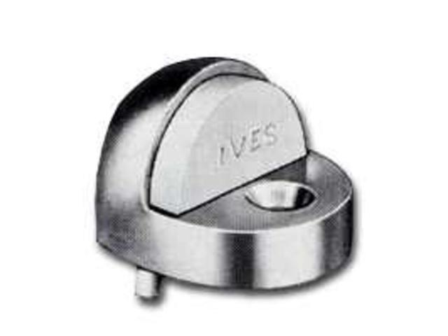 Stp Dr 1-1/4In Al Gry Dome SCHLAGE Door Stops & Bumpers - Basebo 438-PA28 Gray