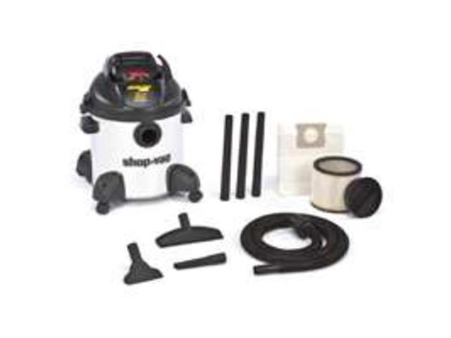 Shop Vac Corp 9650900 Portable Stainless Steel 8-Gallon 4 Peak HP Vacuum