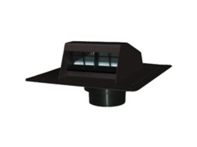 Canplas 6013BL Roof Dryer Vent, Black