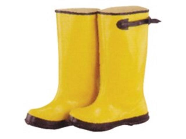 Size 7 Yellow Overshoe Boot DIAMONDBACK Boots - Overshoe Slip On RB001-7-C