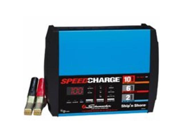 Chrg Batt 12V 120Vac 2/6/10A Schumacher Battery Chargers SSC1000A 026666708050