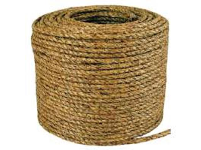 Wellington-Cordage 28773 1/2-inch Manila Rope - 600-Foot