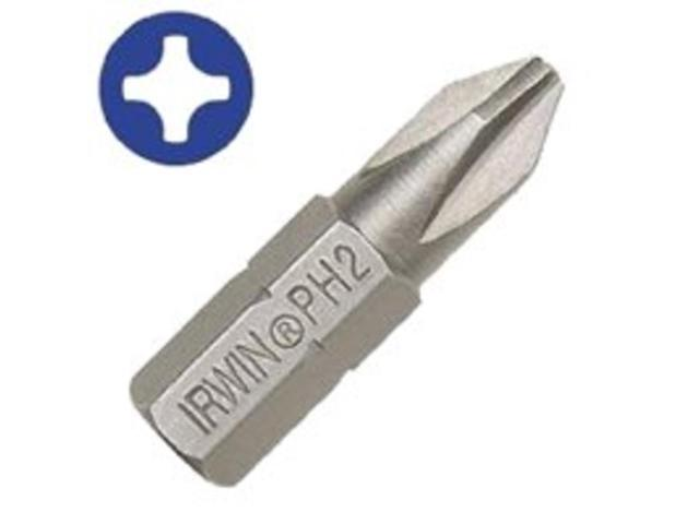 Irwin Industrial 35104725 #2-Philli-PSIllips Drywall Bit 1-Inch 25-Piece Phillip