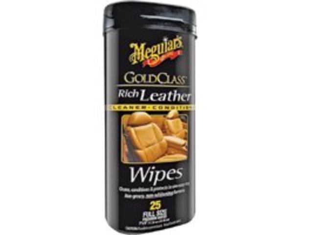 Wipe Lthr Off Wht Sweet 25 MEGUIAR'S INC. Interior Cleaners G10900 Off White