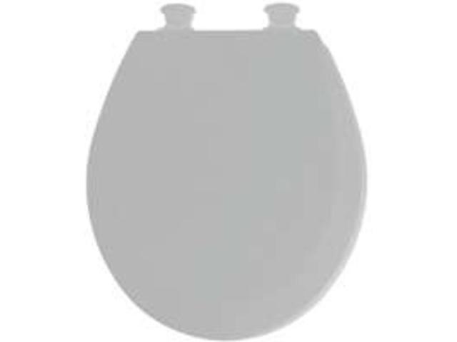 Bemis 46ECDG 162 Round Silver Toilet Seats Molded Wood Each