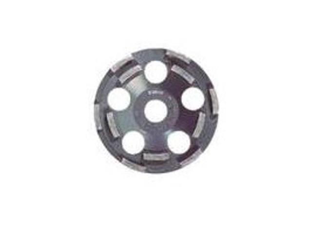 DC510 5 in. Double Row Diamond Cup Wheel