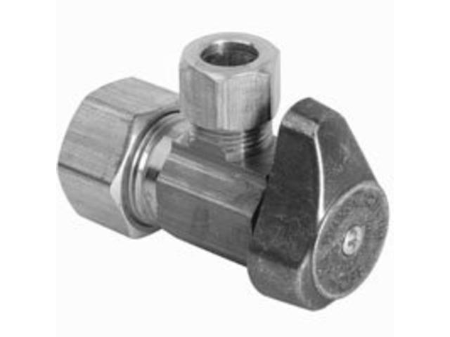 Turn valve brass craft water supply line valves