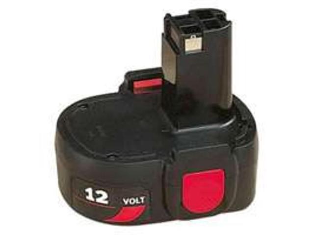 Pk Batt 12V Nicd Mdl 2390 2420 SKIL Batteries 120BAT Black 039725016256