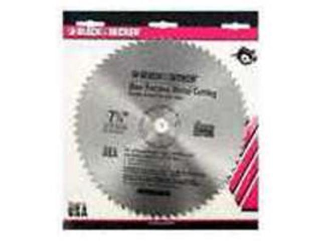 Bld Saw Cir 7-1/4In 5/8In 68T BLACK & DECKER 7 To 7-1/4 Inch Blades 73-187 Steel