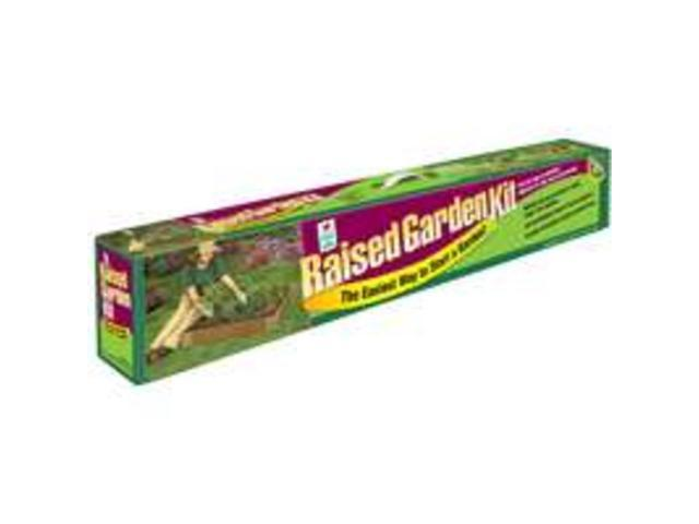 Raised Garden Kit EASY GARDENER Trays/Peat Pots 8061 038398080618