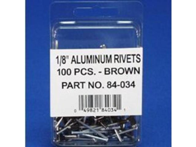Amerimax Home Products 84034 1/8-Inch Brown Rivet