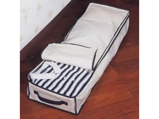 Canvas Underbed Storage Box HOMEBASIX Storage Containers C0946JF5000