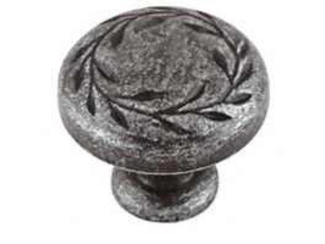 Amerock BP1581-WID 1.25 in. Knob - Wrought Iron Dark