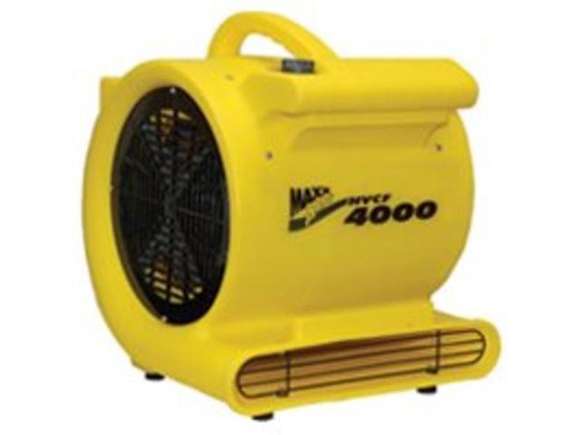 Fan Carpet 4000Cfm 1Hp Yel VENTAMATIC Misc. Fans HVCF 4000 Yellow 047242061123
