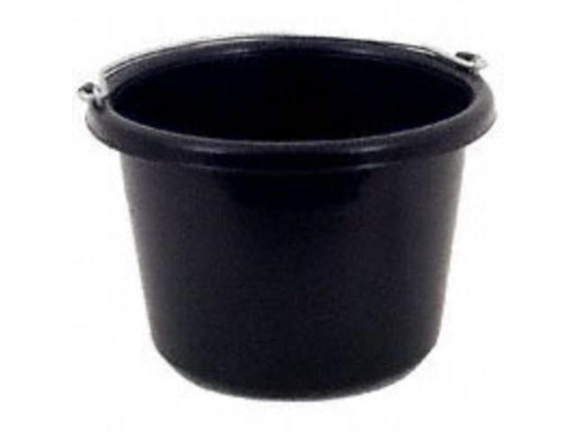 Pail 8 Qt Black