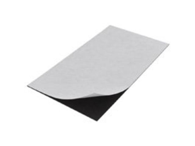 Craft Hobby Rubber Peel & Stick Magnet Sheet Rectangle 5x8 Inches (1 Sheet)