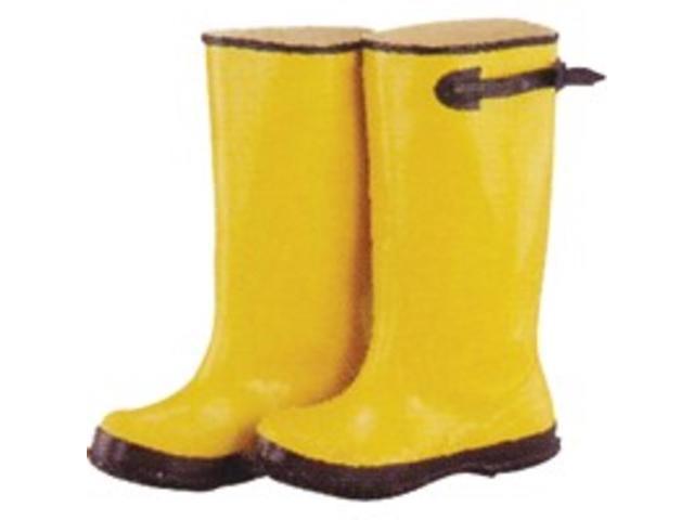 Size 8 Yellow Overshoe Boot DIAMONDBACK Boots - Overshoe Slip On RB001-8-C