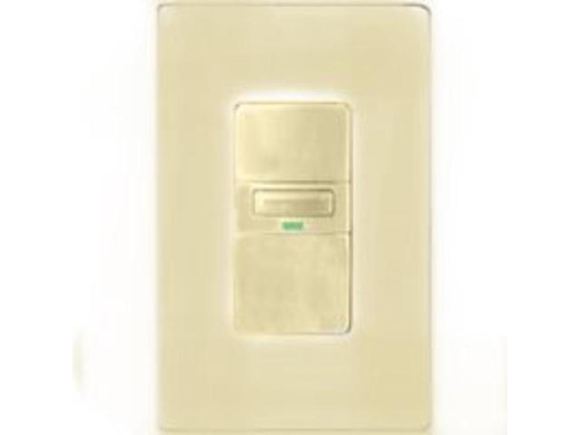 Cooper Wiring VS310U-V-K Vacancy Switch with LED Light Passive Infrared Sensor M
