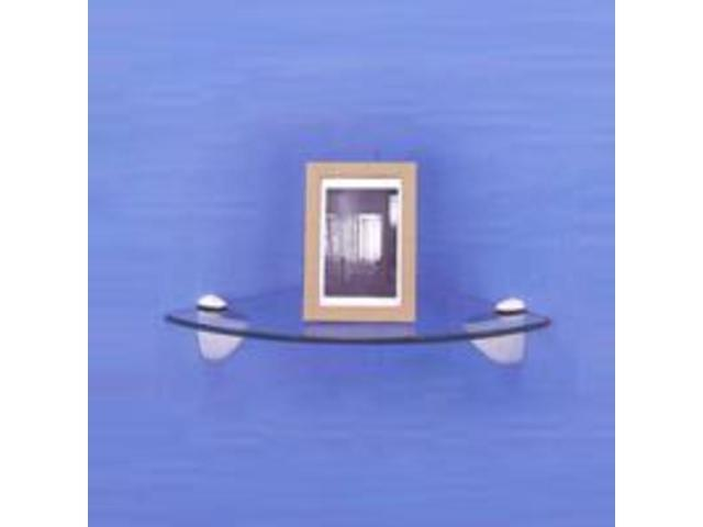 Mintcraft SG-B04 Shelf Grip 3-25-MM White For Glass Shelves - Card of 2