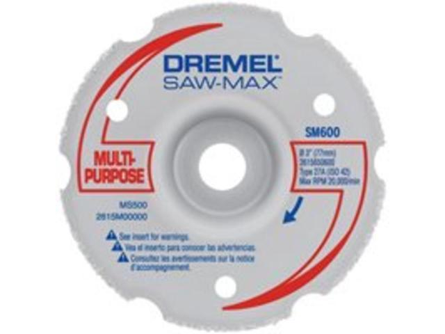 SM600 3 in. Multi-Purpose Flush Cut Carbide Wheel