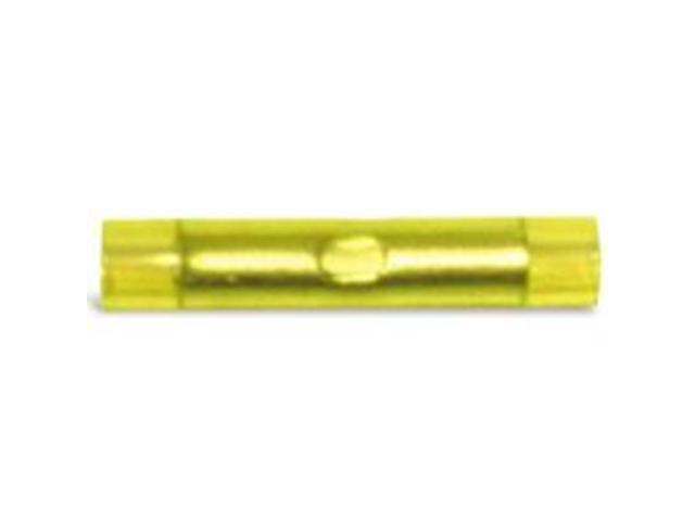 Splc Butt 12-10Awg Yel Nyln CALTERM INC Accessories 65521 Yellow Nylon
