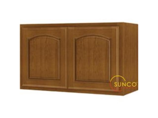 kitchen cabinet 30x18 30x18 2 door oak cabinet sunco inc kitchen cabinets 18186