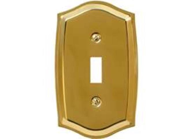 Plt Wall 5-1/8In 3In 1/4In Pb AMERICAN TACK & HDWE CO 76TBR Solid Brass