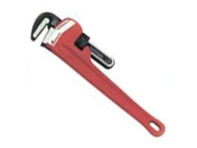 Superior Tool 2808 8-Inch Pipe Wrench Cast Iron Handle Straight