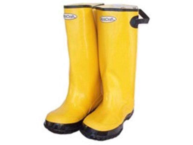 Size 10 Yellow Overshoe Boot DIAMONDBACK Boots - Overshoe Slip On RB001-10-C