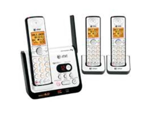 DECT 6.0 digital three handset answering