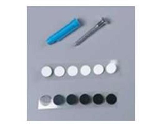 Screw Kit 82 Series KNAPE & VOGT MFG CO Shelf Nails/Screws 82DPSCREWZC