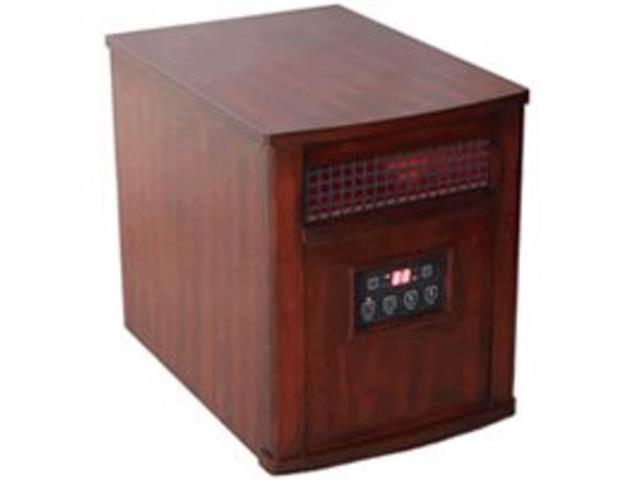 Comfort Glow QEH1501 Heritage Cherry - Infrared - Electric - 750 W to 1.50 kW - 1000 Sq. ft. Coverage Area - 1500 W - 12.50 A - Portable - Heritage Cherry