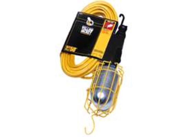 Lt Wrk 120V 13A 16/3 Sjt 25Ft COLEMAN CABLE INC. Clamp Lights 2948 Yellow