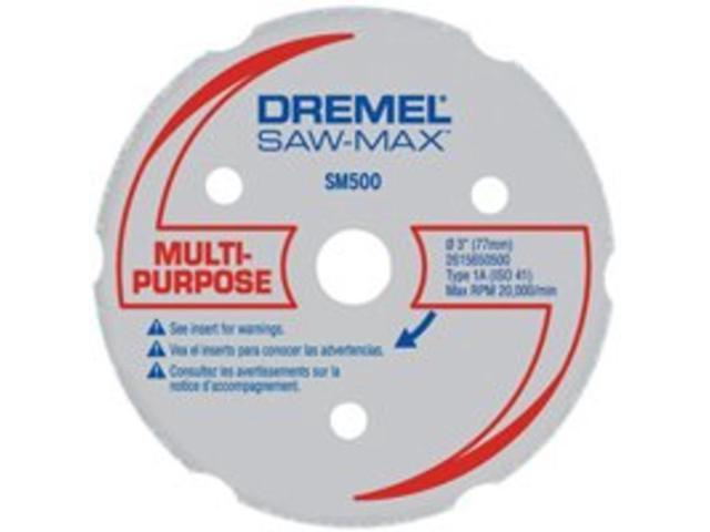 SM500 3 in. Multi Purpose Carbide Cutting Wheel