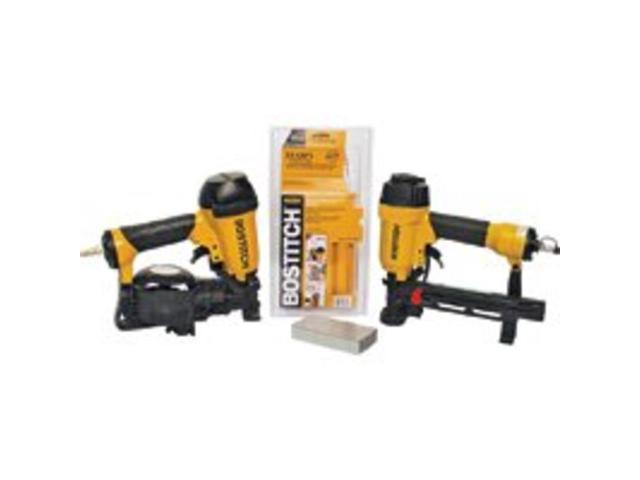 Stanley-Bostitch ROOFKIT2 Roofing Nailer and Cap Stapler Combo Kit