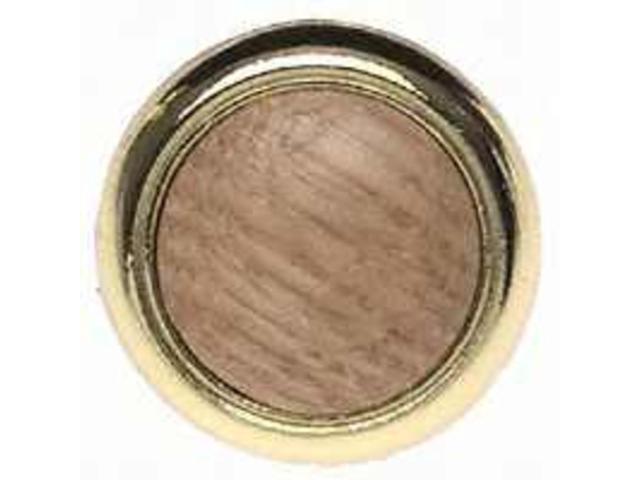 Amerock 265OPB 1.25 in. Round Knob - Oak Polished Brass