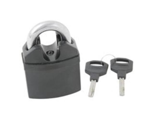 Mintcraft HD-PX065 2-1/2-Inch Covered Padlock Shrouded - Solid Metal - Carded