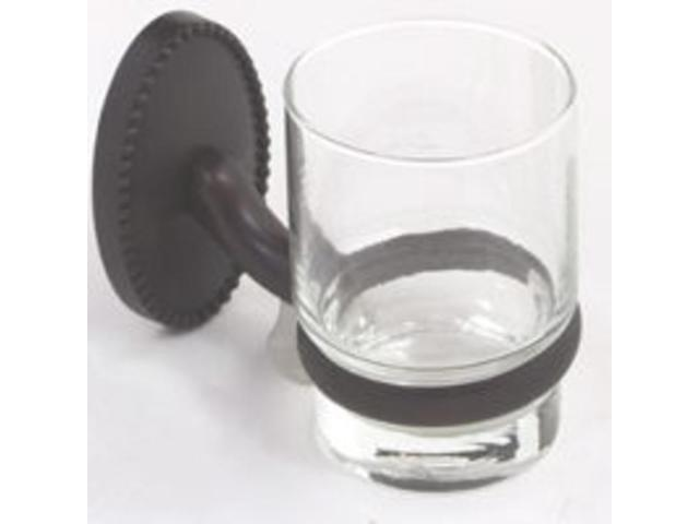 Vic Tmblr Hldr w/Glass Cup Orb MINTCRAFT SIGNATURE Toothbrush Holders