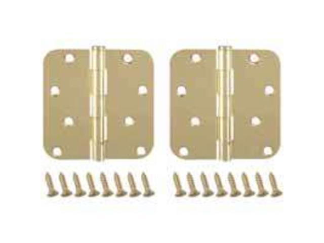Hng Dr 8Hl 4In 0.086In Loose MINTCRAFT Door Hinges BH-402PB3L Satin Chrome Steel