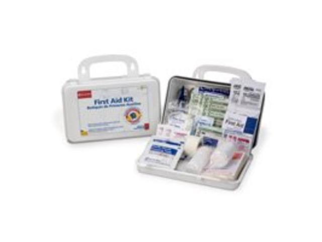 First Aid Only 222-G First Aid Kit 10-Person 62-Pole General Purpose 62 Piece Ea